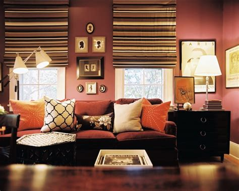 mauve living room mauve walls transitional living room lonny magazine