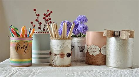 tin can crafts projects diy best crafting ideas for your home 1001 motive ideas