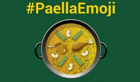 Garden Hose Emoji Paella Loving Spaniards Want Their Own Smiley The Local