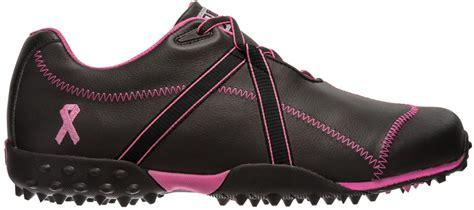 ladies footjoy  project golf shoes blackpink ribbon  womens closeouts  ebay