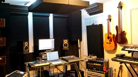 Home Recording Studio Design Book by Gik 242 Acoustic Panels Beach House Control Room