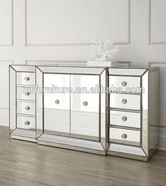 mirrored dining room buffet glass mirrored dining room buffet hutch cabinet mr 4g0139