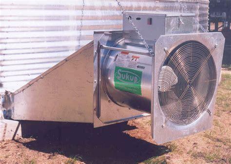 grain bin fan motors devolder farms grain aeration