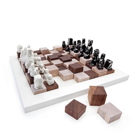 chess set designs a modern chess set design for mankind