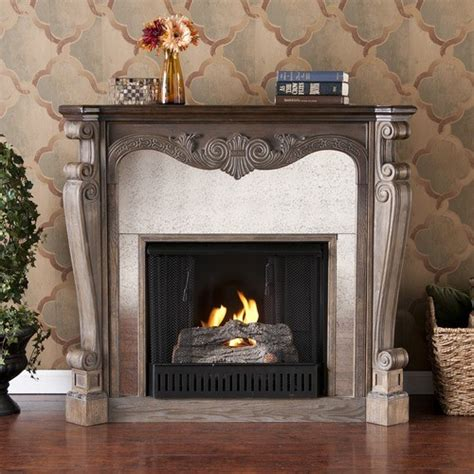 landon slate gel fuel fireplace modern indoor fireplaces