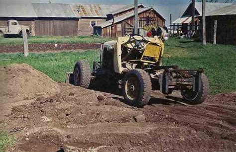 doodlebug tractor plans tractors from junk cars