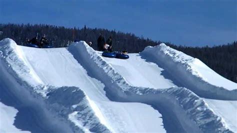 sledding colorado snow tubing in frisco colorado wmv