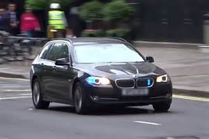 unmarked car responding bmw 5 series