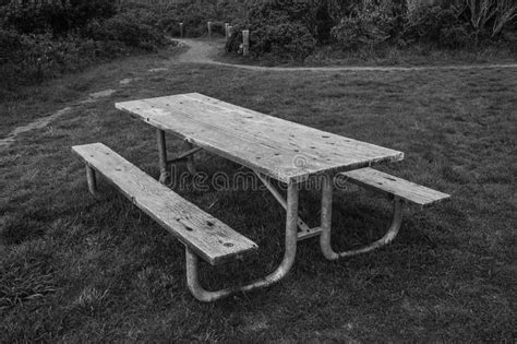 white park bench black and white park bench royalty free stock photo