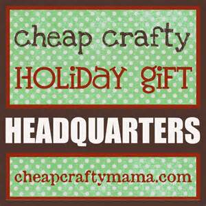 cheap crafty holiday gift headquarters gift ideas