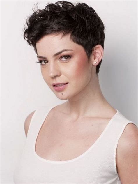 pixie cut thick wavy hair short hairstyles for thick wavy hair pictures beauty