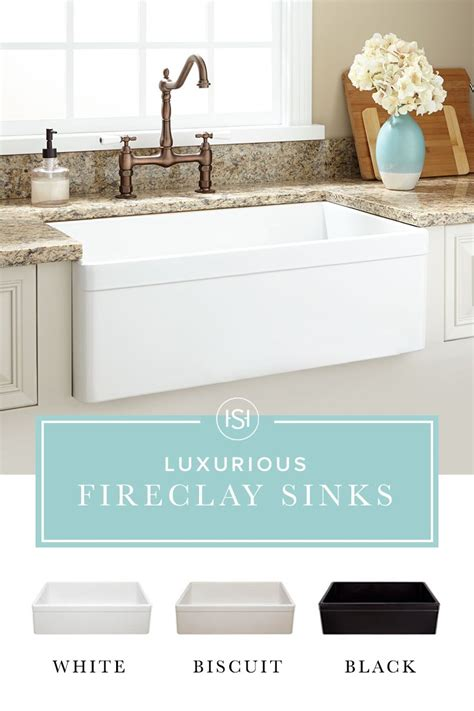 is fireclay sinks durable a that is durable high end and right on trend we