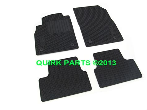 Chevy Cruze Floor Mats by 2012 2014 Chevy Cruze Premium All Weather Floor Mats Oem