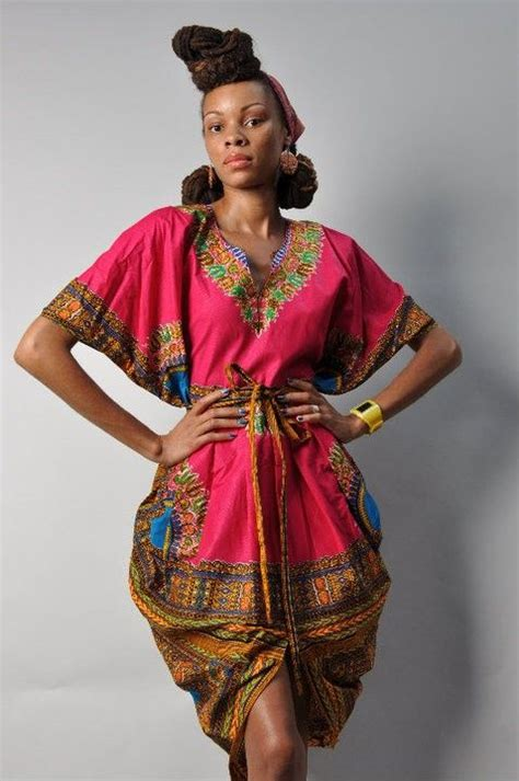 shortcuts funky african western hairstyles ooak salmon dashiki chic tribal scalloped by
