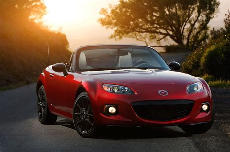 mazda miata cost 2015 mazda miata 25th anniversary edition costs 33 000