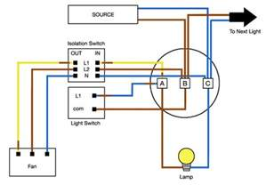 bathroom electrical wiring diagram