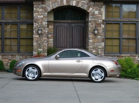 buy car manuals 2002 lexus sc parking system find used 2002 lexus sc430 base convertible 2 door 4 3l in kingsport tennessee united states