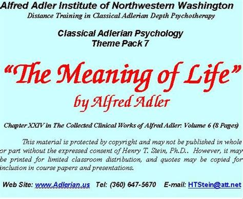 philosophical themes meaning bol com classical adlerian psychology theme pack 7