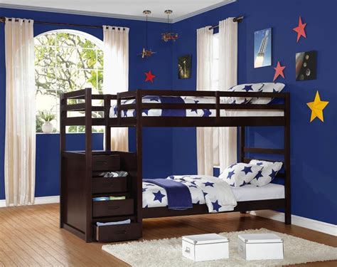 tempat tidur tingkat jati tangga laci jepara heritage
