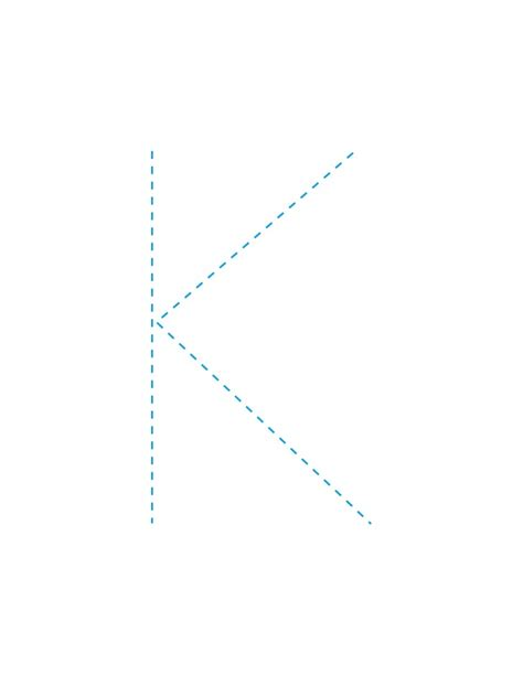 Letter K Drawing by How To Draw The Letter K Hellokids