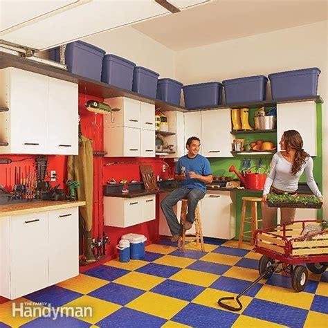 Family Handyman Garage Storage by Garage Cabinet Storage The Family Handyman
