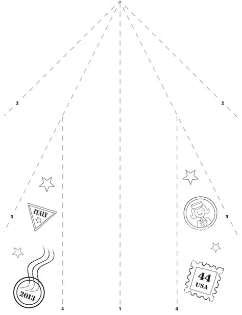 Paper Plane Folding Template - welcome to dover publications