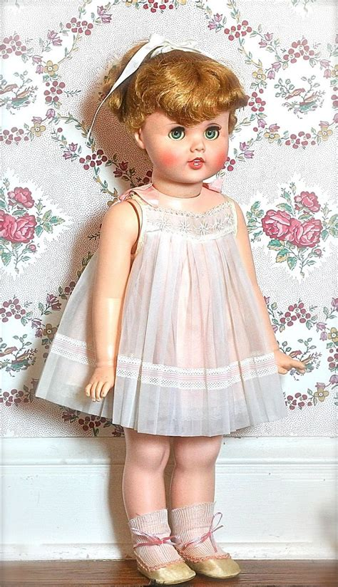 Girlset Doll vintage toodles doll 24 quot 1960 near mint