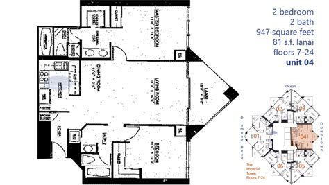 hawaii floor plans imperial plaza honolulu hawaii condo by hicondos com