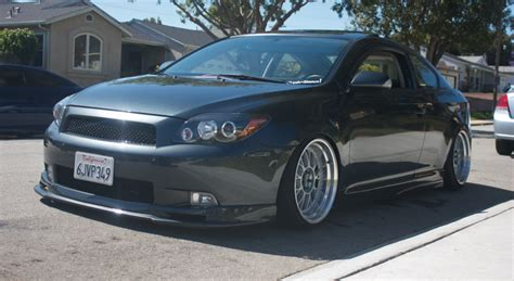 scion tc 2005 tire size post pictures of your tc with aftermarket rims tires here