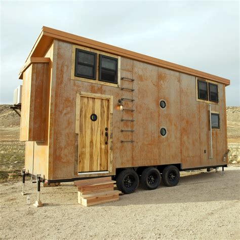 tiny house nation fyi the edge and industrial aesthetic of steunk makes