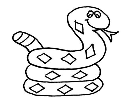 Snake Pictures To Color by Snake Pictures To Color Coloring Picture Hd For