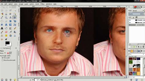 gimp replace color replace match skin color gimp 2 8 tutorial
