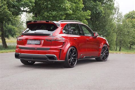 mansory porsche mansory uprates porsche cayenne turbo s to 620hp via