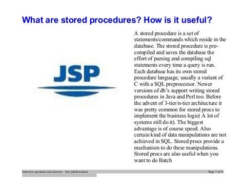 jsp tutorial interview questions top jsp interview questions and answers job interview tips