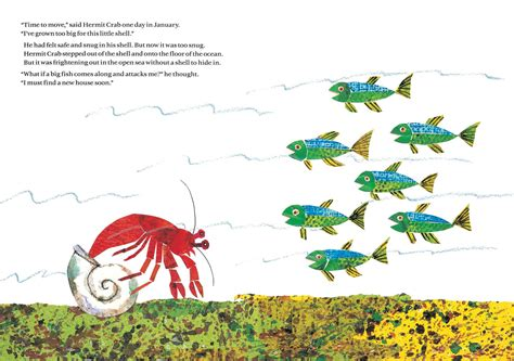 the three hermit crabs books a house for hermit crab book by eric carle official
