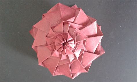 Origami Flower Tower - shafer origami flower tower comot