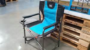 coleman directors chair timber ridge director s chair with side table costco