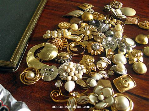 how to make vintage jewelry vintage jewelry picture frame ode to inspiration