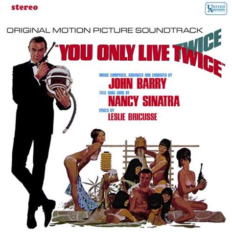 theme music you only live twice you only live twice theme from the james bond film sheet
