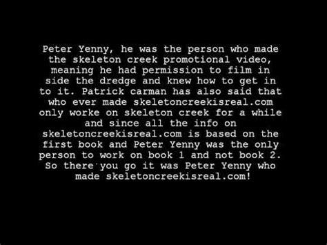 Skeleton Creek 4 The skeleton creek mysteries revealed 5 yenny