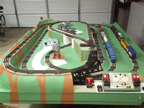 lionel layout youtube 1950 s lionel o gauge train layout restoration project and