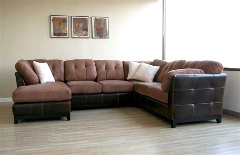 leather and microfiber sofa wholesale interiors 3126 j204 microfiber leather sectional