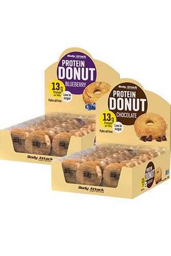 protein donuts attack protein donut