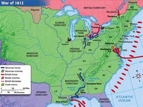 battles along the canadian border the war of 1812 meaning