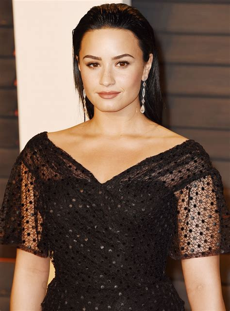 Vanity Fair After by Demi Lovato At Vanity Fair Oscars After In Beverly