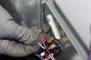 how to replace a thermal fuse in an electric dryer
