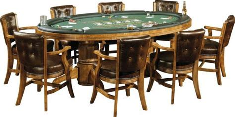 Texas Hold'em Game Table   Peters Billiards