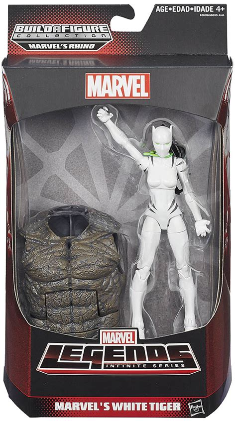 Marvel Legends Infinite Series Baf Rhino White Tiger white tiger marvel legends infinite figure spider