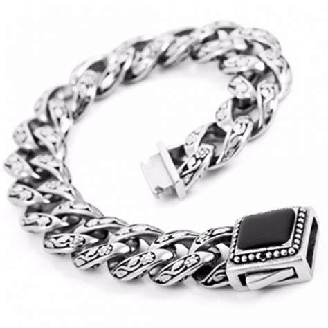 Gelang Silver Skull edgy jewelry necklaces rings bracelets