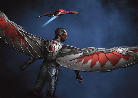 Falcon Civil War new captain america civil war marvel and toys